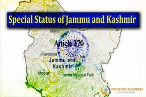 Indian polity-Special Status of Jammu and Kashmir