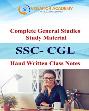 Complete General Awareness Handwritten Class Notes For SSC CGL & CPO (SI), Sub-Inspector