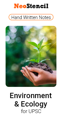 Environment and Ecology for UPSC
